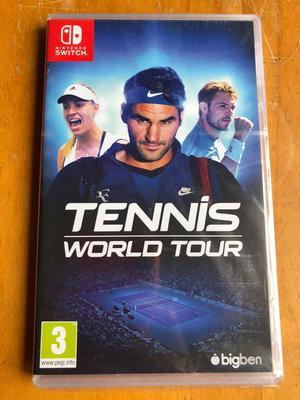 Tennis World Tour Nuevo Sellado Juego Nintendo Switch