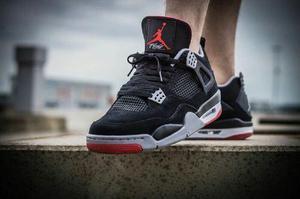 Air Jordan Retro 4 Hombre Talla 41