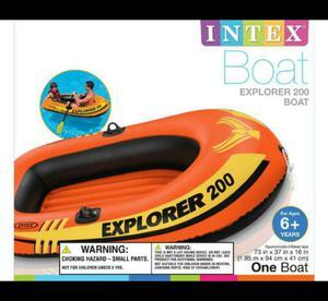 Bote Explorer Intex Nuevo
