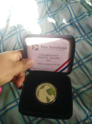 Medalla de La Mina Morococha