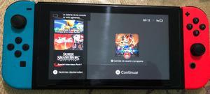 Nintendo Switch Usado 3 Juegos