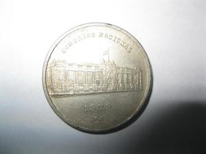 VENDO MONEDA ANTIGUA DE  Congreso Nacional.