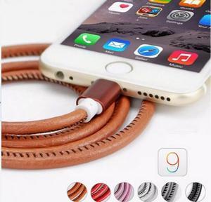 Cable Usb Cuero Original Samsung Y iPhone
