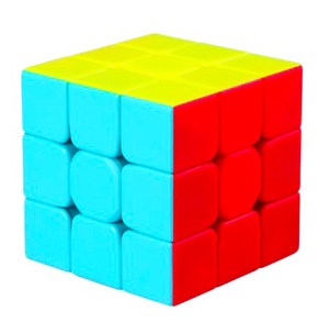 CUBO Qiyi Mofangge Warrior W 3X3X3 Stickerless Speed Cube