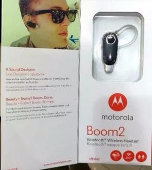 Vendo Handsfree Motorola Boom 2 Nuevo