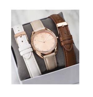 Reloj para Mujer con tres correas intercambiables