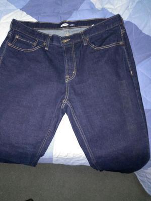 pantalon jean talla marca old navy color azul oscuro 5e8cc386f35