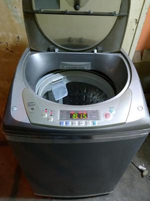 Lavadora Lg 15 Kg Color Silver