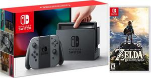 Nintendo Switch Console w/ Gray JoyCon The Legend Of Zelda: