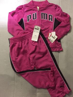 conjunto buso para niña bebe 18 a 24 meses Nike Puma