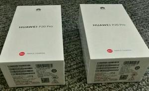 Huawei P20 Pro 128gb, 6gb Ram, Octa Core, 3 Camaras 40mpx