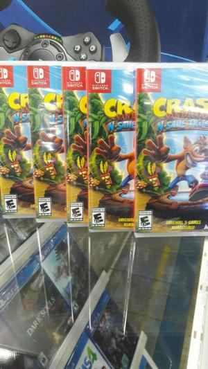 Crash Bandicoot Nintendo Switch Nuevo Sellado Stock