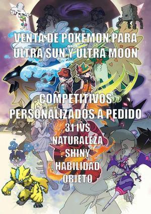 Pokémon Ultra Sol Ultra Luna Eventos