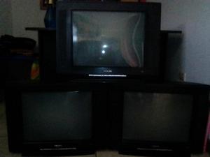 Vendo 5 Tv Crt 21 todo en 700 soles..!!