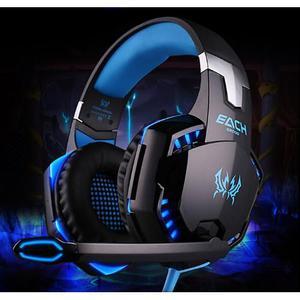 Audifono Gamer Halion Led Azul
