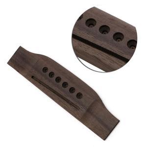 Puente Guitarra Acustica Rosewood Pines Cuerdas Metal Nuevo