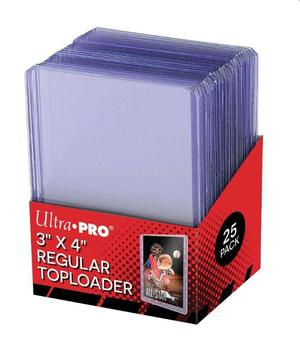 Toploaders marca Ultra Pro Pack 25 unidades. Ultrapro