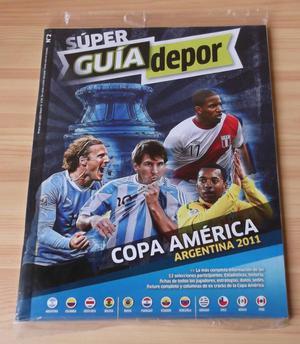 Guia Depor Copa America , Nueva y Sellada