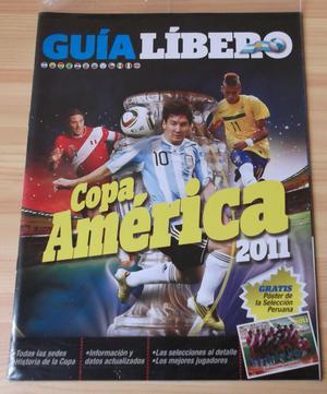 Guia Libero Copa America , Nueva y Sellada