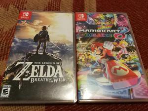 Vendo Juegos Nintendo Switch Como Nuevo