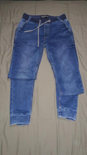 Pantalon Jean Jogger Talla 32 Orginal