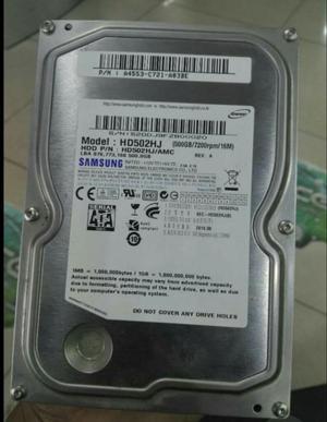 Remato Disco Duro Samsung 500gb Poco Uso