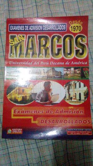 Solucionario Universidad San Marcos