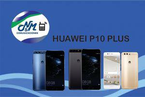 HUAWEI P10 PLUS,64GB,4RAM, COLORE,NEGRO,DORADO Y AZUL..SOMOS