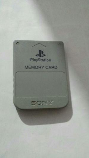 Memoria Playstation 1 en Buen Estado