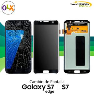 Pantalla Samsung S7, S7 Edge, S8, S8 Plus, S9 y S9 Plus
