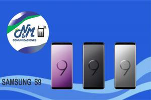 SAMSUNG S9,64GB,4GB RAM..COLOR NEGRO,LILA,PLATA..SOMOS