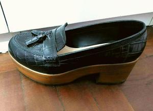 Zapatos de Cuero Foresta Talla 37