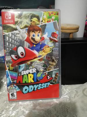 Mario Odyssey Juego Nintendo Switch
