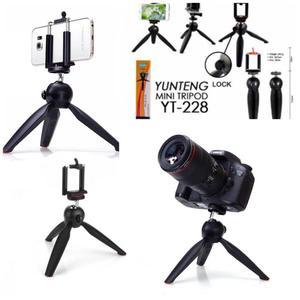 YUNTENG YT228 mini trípode para cámara digital /