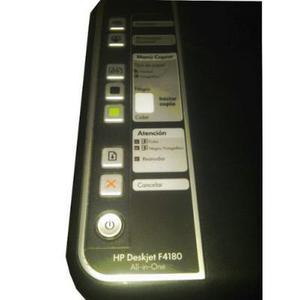 Impresora funcional vendo o cambio marca hp con faltantes.