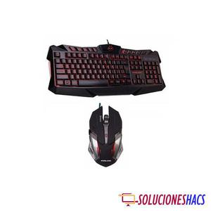 Kit Gamer Teclado y Mouse Halion Draco