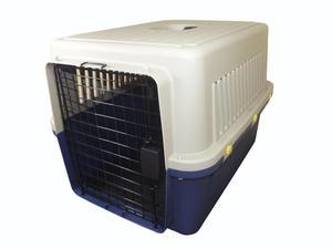 Kennel Transportador para mascotas L70. Piso Impermeable.