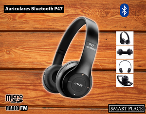 Auricular Bluetooth Inalámbrico P47 Android Radio Mp3