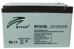 BATERIA RECARGABLE DE 12V12AH RITAR RT
