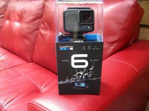 Cámara de video GoPro HERO6 Black 4K Action Cámara HD Wifi