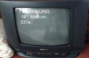 Tv Televisor 14 Samsung Malogrado Para Repuestos