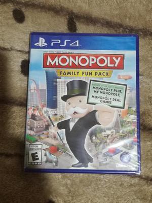 Monopoly para Ps4 Nuevo Y Sellado
