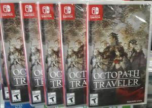 Octopath Traveler Nintendo Switch Nuevo Sellado Stock