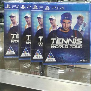 Tennis World Tour Ps4 Nuevo Sellado Stock