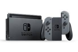 Ocasión Consola Nintendo Switch Gris 02 juegos físicos