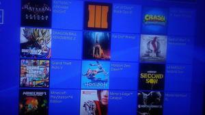 Playstation 4 Flasheado 17 Juegos Grabados 500gb