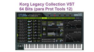 Korg Legacy Collection AAX 64 Bits, Para Pro Tools 12