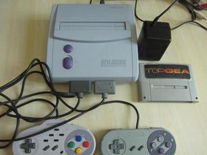 SuperNintendo Original, 2 mandos y 2 juegos