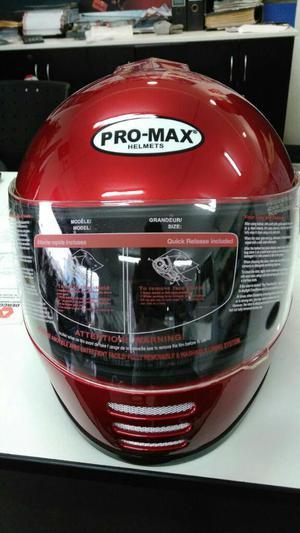 Vendo Casco de Moto Promax Rojo Xxl