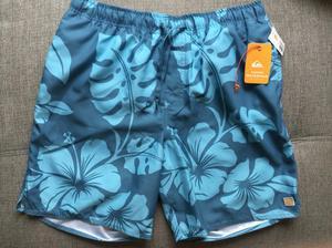 Bermuda Quiksilver Waterman Collection Talla M azul